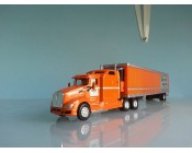 CAMION KENWORTH T660 TRAILER REEFER ESCALA 1:87