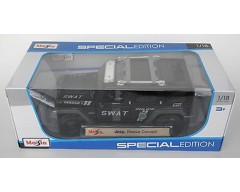 JEEP RESCUE SWAT ESCALA 1:18
