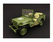 JEEP WILLYS USARMY ESCALA 1:18