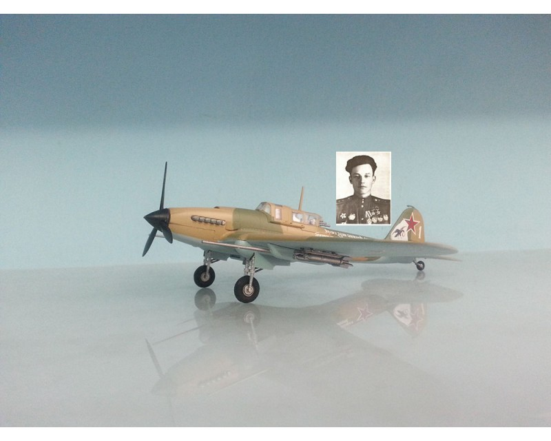 AVION ILYUSHIN IL2 STURMOVIK AS IVAN PAVLOV ESCALA 1:72