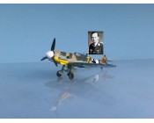 AVION MESSERSCHMITT BF 109 G2 AS WOLFGANG TONNE ESCALA 1:72
