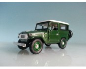 JEEP TOYOTA FJ40 LAND CRUISER ESCALA 1:24