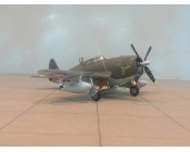 AVION P47D RAZORBACK ESCALA 1:72