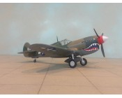 AVION P40M U.S.A.F. CHINA 1945 ESCALA 1:48