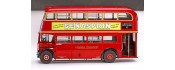 London Bus RT10 402 año 1947 metalico escala 1:24