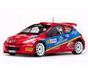 PEUGEOT 207 S2000 RALLY DE FRANCE 2011 ESCALA 1:18