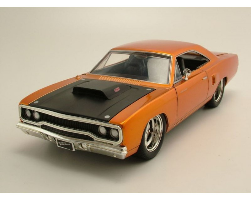 plymouth road runner rapido y furioso auto de dom toretto escala 1 24. Black Bedroom Furniture Sets. Home Design Ideas