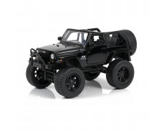 JEEP WRANGLER NEGRO OFF-ROAD ESCALA 1:24
