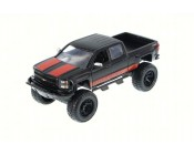 CHEVROLET SILVERADO OFF-ROAD NEGRA ESCALA 1:24