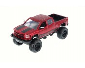 CHEVROLET SILVERADO ROJA OFF-ROAD ESCALA 1:24