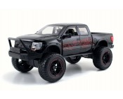 FORD RAPTOR NEGRA OFF-ROAD ESCALA 1:24