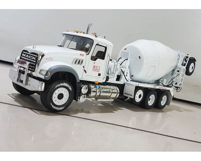 CAMION MIXER MACK GRANITE ESCALA 1:34